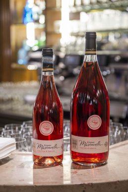 GALLERIA CRACCO by Sky Arte, Masciaerelli wine, photo Carmine Conte
