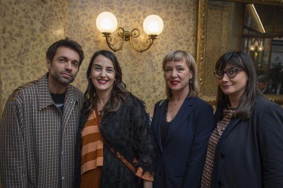GALLERIA CRACCO by Sky Arte, Massimo Giorgetti - Sara Goldschmied - Eleonora Chiari - Ilaria Bonacossa, photo Carmine Conte