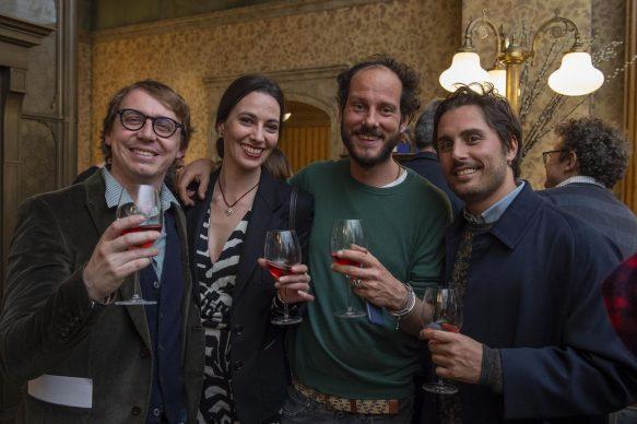 GALLERIA CRACCO by Sky Arte, Paride Vitale - Daniela Virgilio - Stefano Tei - Federico Santamaria, photo Carmine Conte