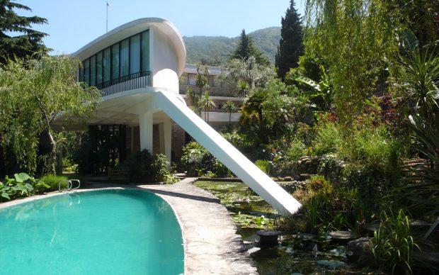Leonardo Ricci, Casa Balmain (1957-1959 Marciana - Isola d'Elba), foto Maria Clara Ghia