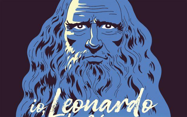 Massimo Polidoro locandina spettacolo teatro Io Leonardo da Vinci