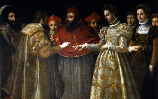 Matrimonio di Caterina de' Medici Jacopo Chimenti detto Empoli 1600 ca. Gallerie degli Uffizi