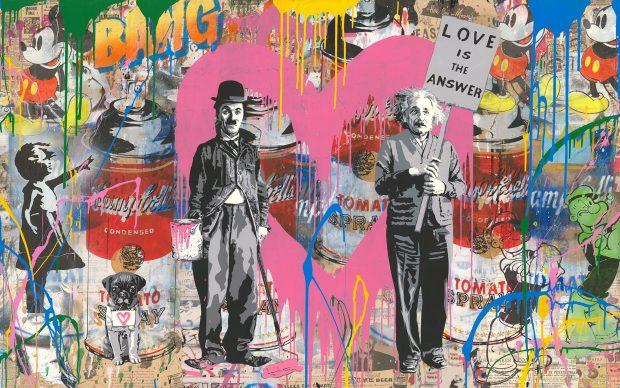 Mr. Brainwash, Juxtapose, 2018 - Courtesy of Galleria Deodato Arte and the artist