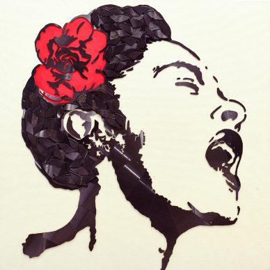 Mr.Brainwash, Billie Holiday, 2018 - Courtesy of Galleria Deodato Arte and the artist
