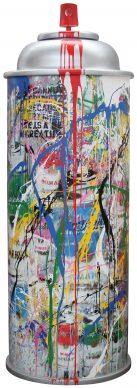 Mr.Brainwash, Graffiti, 2018 - Courtesy of Galleria Deodato Arte and the artist