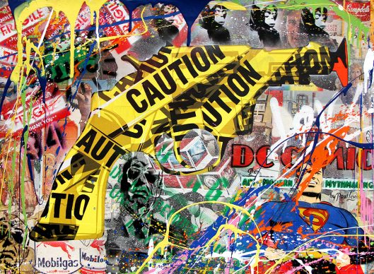Mr.Brainwash, Handle with care, 2013 - Courtesy of Galleria Deodato Arte and the artist