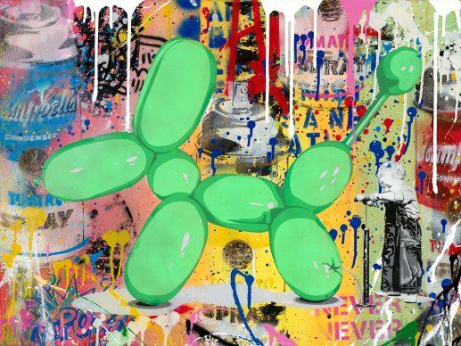Mr.Brainwash, Poppy, 2018 - Courtesy of Galleria Deodato Arte and the artist