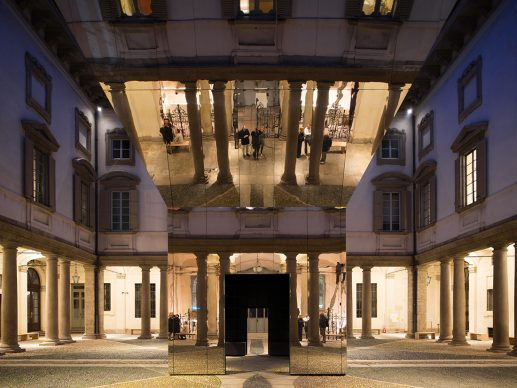 Pezo von Ellrichshausen per Mosca Partners, Echo - The Litta Variations/Opus 5, Palazzo Litta, Milano Design Week 2019. Photo Credits Mauricio Peso