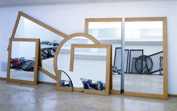 Michelangelo Pistoletto, Il disegno nello specchio