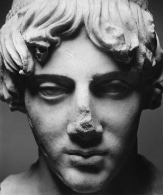 Luigi Spina, Volti di Roma ©luigispina - Testa dell'Apollo Omphalos inv. MC 3046