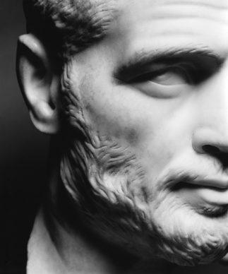 Luigi Spina, Volti di Roma ©luigispina - Ritratto maschile MC inv. 2302
