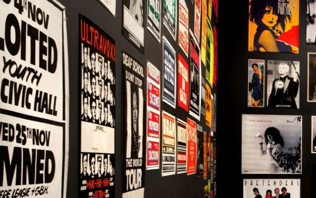 Too Fast to Live, Too Young to Die Punk Graphics, 1976–1986, Cranbrook Art Museum, Bloomfield Hills, MI PD Rearick; Courtesy of Cranbrook Art Museum