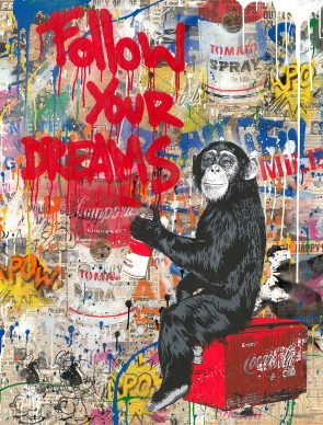 Mr.Brainwash, Everyday Life, 2018 - Courtesy of Galleria Deodato Arte and the artist