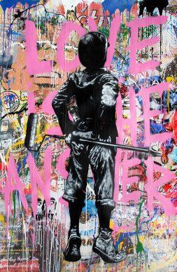 Mr.Brainwash, Untitled, 2017 - Courtesy of Galleria Deodato Arte and the artist