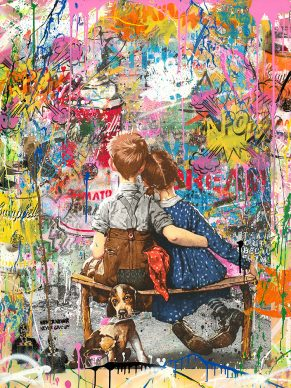 Mr.Brainwash, Work well together, 2018 - Courtesy of Galleria Deodato Arte and the artist