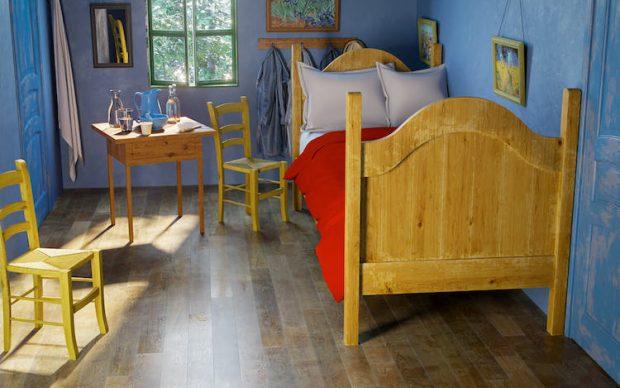 render realistico camera da letto vincent van gogh home advisor