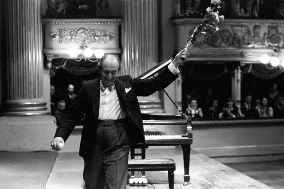 Wladimir Horowitz, Teatro alla Scala, Milano 1985 © Lelli e Masotti / Lelli e Masotti Archivio