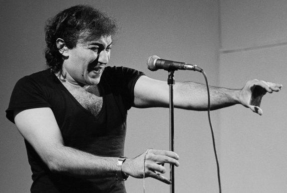 Demetrio Stratos, solo performance, spazio Preart, Milano 1978 © Lelli e Masotti / Lelli e Masotti Archivio