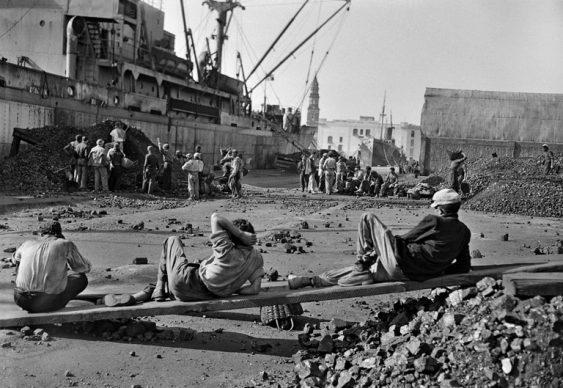 Federico Patellani, Napoli, 1947. Il porto © Studio Federico Patellani  Regione Lombardia / Museo di Fotografia Contemporanea, Milano-Cinisello Balsamo