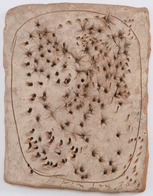Lucio Fontana, Concetto Spaziale, Il Pane, 1950, Fondazione Lucio Fontana, Milan © Fondazione Lucio Fontana, Bilbao, 2019