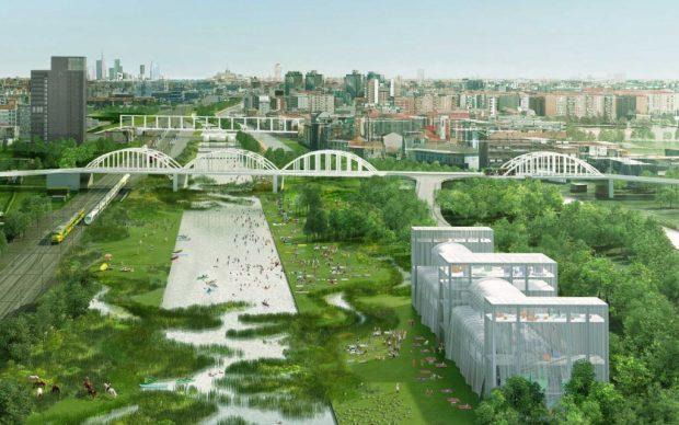 Agenti climatici, proposta per Scalo San Cristoforo, Milano