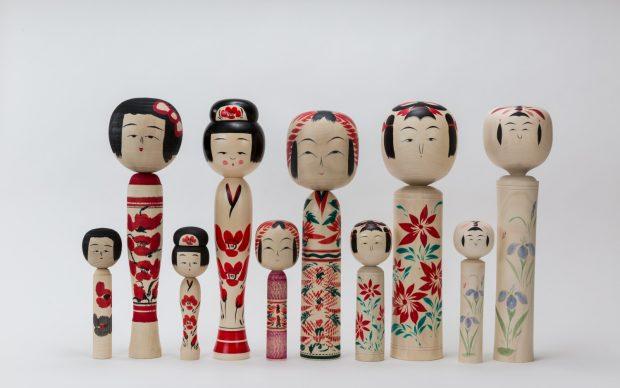 Bambole Kokeshi Giappone_For_MUDEC Milano