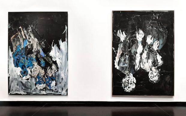 Baselitz - Academy, exhibition view, Gallerie dell'Accademia, photo by Irene Fanizza - Artribune