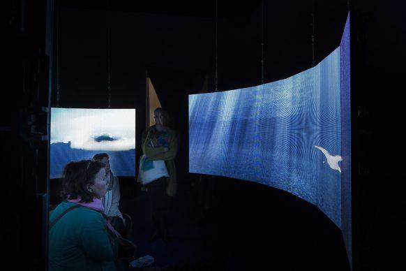 58. Esposizione Internazionale d'Arte - La Biennale di Venezia, May You Live In Interesting Times, Hito Steyerl, Leonardo´s submarine, 2019. Photo by: Francesco Galli, Courtesy: La Biennale di Venezia