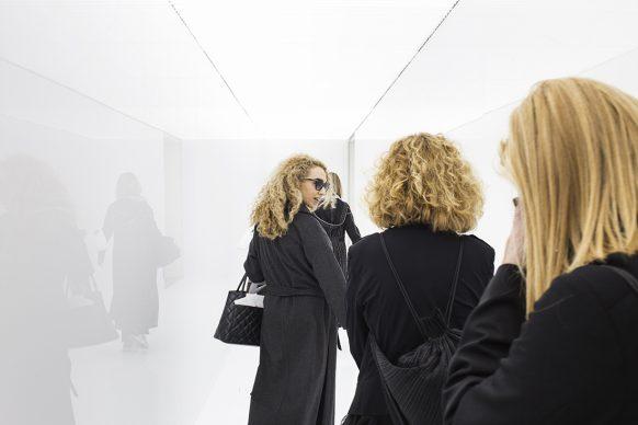 58. Esposizione Internazionale d'Arte - La Biennale di Venezia, May You Live In Interesting Times - Ryoji Ikeda, spectra III, 2008. Photo by: Francesco Galli. Courtesy: La Biennale di Venezia