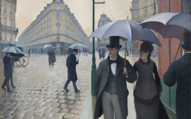 Gustave Caillebotte, Parigi in un giorno di pioggia