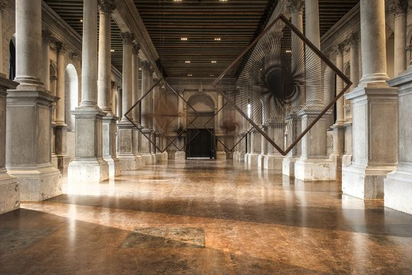 Alberto Biasi. Tra realtà e immaginazione - Palazzo Ferro Fini, Venezia. Ph credits Lorenzo Sampaolesi