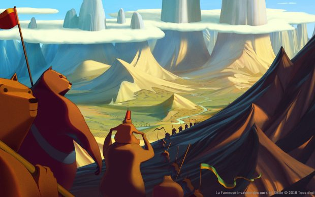 La famosa invasione degli orsi in Sicilia film animazione Lorenzo Mattotti