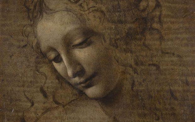 Leonardo da Vinci: La Scapiliata. Foto di Lorenzo Moreni