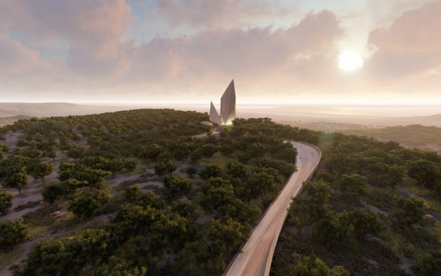 Libeskind Museo Ngaren: The Museum of Humankind Kenya