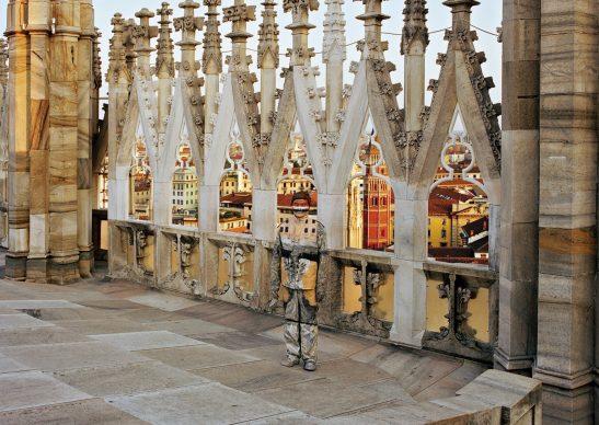Liu Bolin, Duomo di Milano, 2010. Courtesy: Boxart, Verona