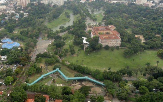 Museu Nacional, UFRJ, Quinta da Boa Vista, Rio de Janeiro, Brasil, photo by Agencia CNT de Noticias via Wikipedia