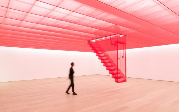 Do Ho Suh, Staircase-III (2003-2010) Tate: purchased with funds provided by the Asia Pacific Acquisitions Committee 2011 © Do Ho Suh. Photo Antoine van Kaam