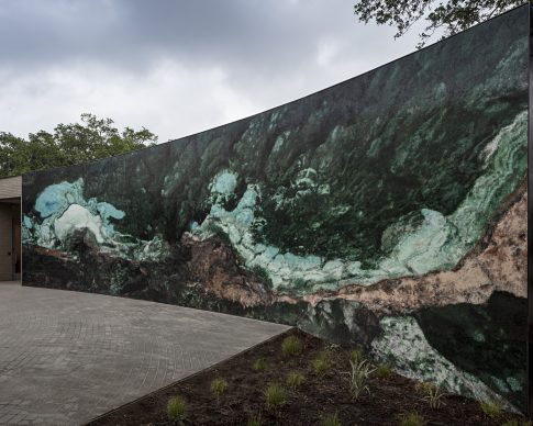 The Sydney and Walda Besthoff Sculpture Garden Expansion at the New Orleans Museum of Art, Teresita Fernández, Viñales (Mayombe Mississippi), 2019. Photo Credit: Richard Sexton