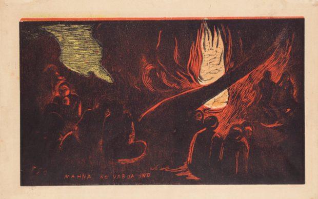 Paul Gauguin, Il diavolo parla, MAHNA NO VARUA INO, 1893–1894
