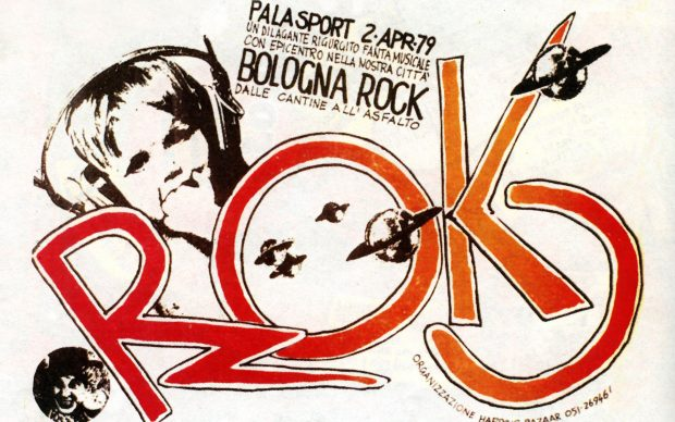 Pensatevi_Liberi_Bologna Rock_1979 flyer