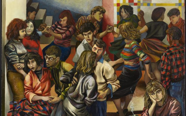 Renato Guttuso (Bagheria, PA, 1912 - Roma, 1987) Boogie-woogie (Boogie-woogie a Roma), 1953 Mart, Museo di arte moderna e contemporanea di Trento e Rovereto / Collezione VAF-Stiftung