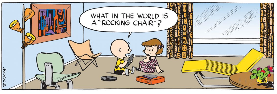 Charles Schulz, Peanuts (detail), 1953  © 1953 Peanuts Worldwide LLC