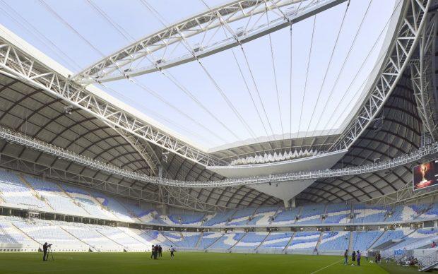 Zaha Hadid Architects, Al Wakrah Stadium, Qatar © Hufton+Crow