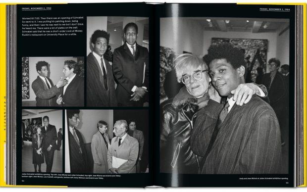 Warhol on Basquiat libro fotografico Taschen