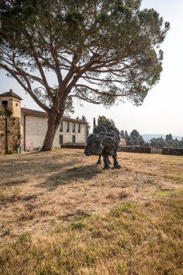 """Firenze, Forte Belvedere - Mostre """"A perfect day"""" di Massimo Listri e """"My land"""" di Davide Rivalta. Foto © Nicola Neri"""