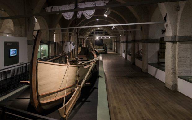 Museo Navi Antiche, Pisa, Alkedo_Ricostruzione