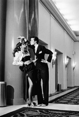 Helmut Newton, Fashion Yves Saint Laurent, French Vogue, Paris, 1979 © Helmut Newton Estate