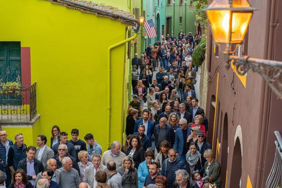 David Tremlett, Via di Mezzo, Ghizzano 2019 - ph. Andrea Testi