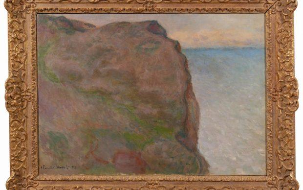 Claude Monet, La Falaise du Petit Ailly à Varengeville, photo by Lorenzo Moreni
