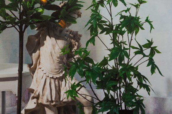 """Dettaglio dell'opera """"Hash"""", mostra """"Jeff Bark: Paradise Garage"""" - Photo by Andrea Buccella"""